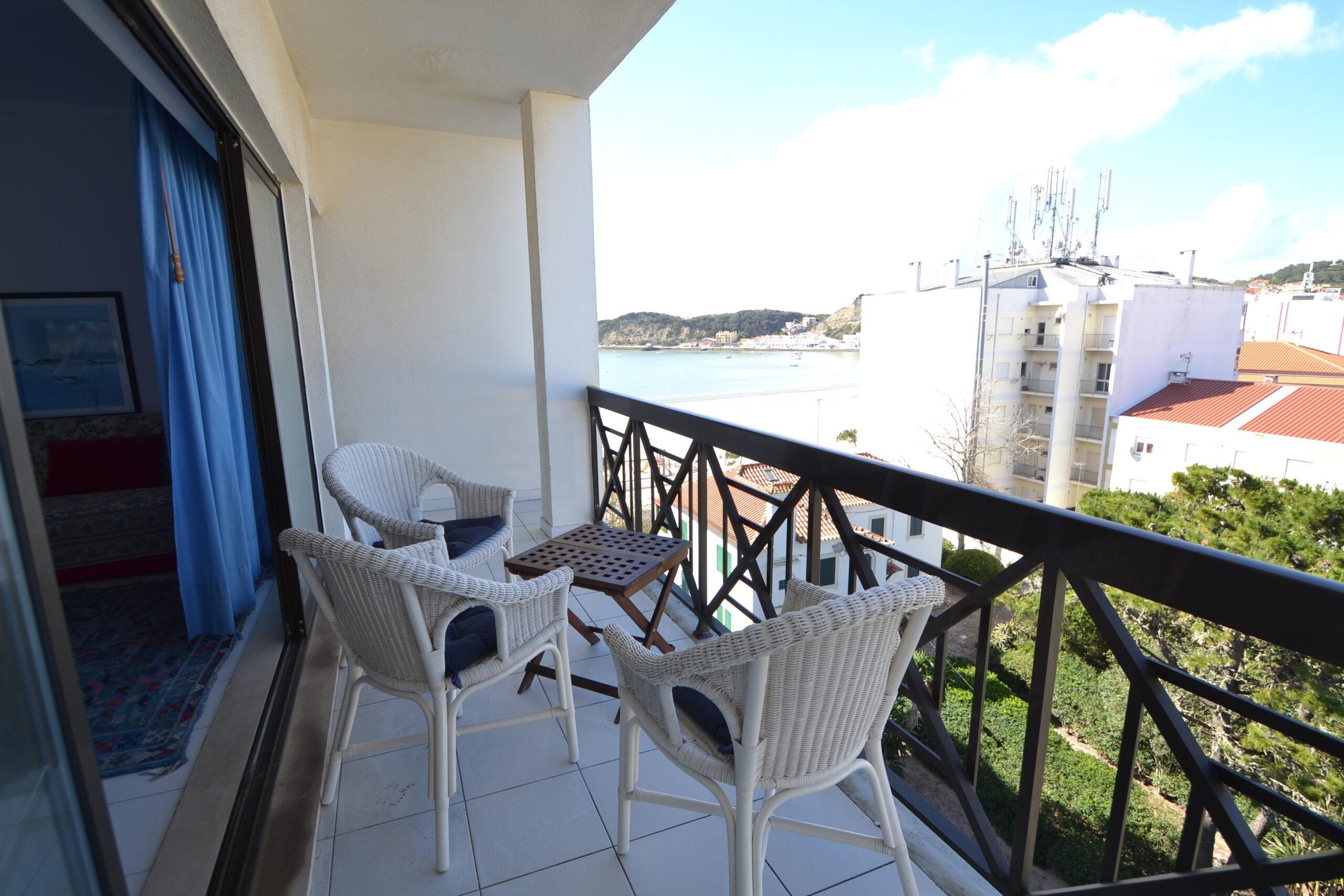 Vista da varanda/ view from the balcony